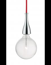 OUTLET Lampa wisząca Minimal SP1 Cromo 009384 Ideal Lux chromowana oprawa w minimalistycznym stylu