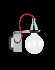 OUTLET Kinkiet Minimal Cromo AP1 045207 Ideal Lux minimalistyczna oprawa w kolorze chromu