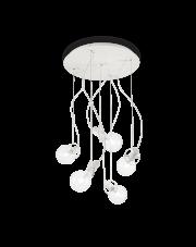 Lampa Wisząca Radio SP5 141138 Ideal Lux nowoczesna oprawa w kolorze białym