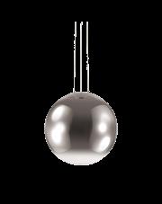 Lampa Wisząca Mapa Fade SP1 D50 161327 Ideal Lux nowoczesna szklana oprawa