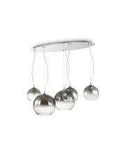 Żyrandol Discovery Fade SP5 138305 Ideal Lux nowoczesna szklana oprawa