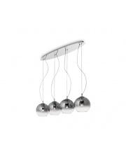 Lampa Wisząca Discovery Fade SP4 149561 Ideal Lux nowoczesna szklana oprawa