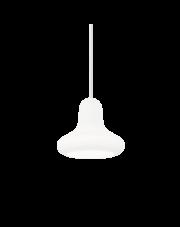 Lampa wisząca Lido-1 SP1 167626 Ideal Lux biała szklana oprawa w dekoracyjnym stylu