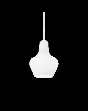 Lampa wisząca Lido-2 SP1 167640 Ideal Lux biała dekoracyjna oprawa w nowoczesnym stylu