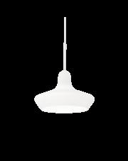 Lampa wisząca Lido-3 SP1 168319 Ideal Lux dekoracyjna szklana oprawa w kolorze białym