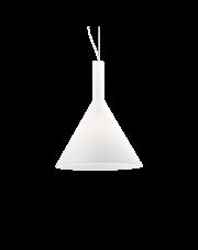 Lampa wisząca Cocktail SP1 Big 074313 Ideal Lux minimalistyczna oprawa w kolorze białym