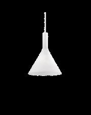 Lampa wisząca Cocktail SP1 Small 074337 Ideal Lux nowoczesna oprawa w kolorze białym