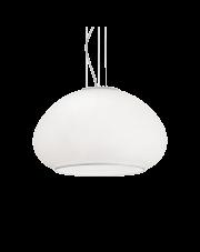 Lampa wisząca Mama SP3 D50 071022 Ideal Lux nowoczesna oprawa w kolorze białym