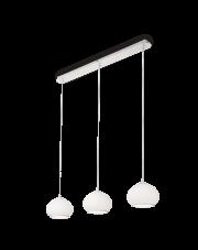 Lampa wisząca Mama SP3 093307 Ideal Lux potrójna oprawa w kolorze białym