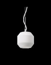 Lampa wisząca Origami-1 SP1 200583 Ideal Lux pojedyncza biała oprawa w dekoracyjnym stylu