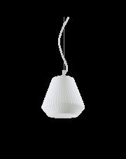 Lampa wisząca Origami-3 SP1 200606 Ideal Lux nowoczesna biała oprawa w dekoracyjnym stylu