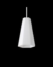 Lampa wisząca Cairo SP1 D15 208176 Ideal Lux geometryczna oprawa w kolorze białym