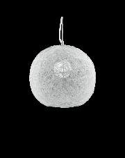 Lampa wisząca Emis SP1 D40 022420 Ideal Lux dekoracyjna oprawa w kolorze niklu
