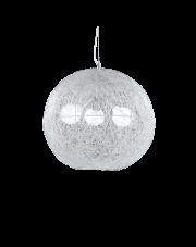 Lampa wisząca Emis SP3 D50 026510 Ideal Lux dekoracyjna oprawa w kolorze niklu