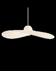 Lampa wisząca Madame SP1 219875 Ideal Lux dekoracyjna oprawa w kolorze kości słoniowej