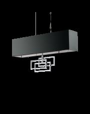 Lampa wisząca Luxury SP6 219721 Ideal Lux chromowana oprawa w dekoracyjnym stylu