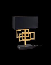 Lampa stołowa Luxury TL1 201115 Ideal Lux miedziana oprawa w nowoczesnym stylu