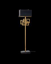 Lampa podłogowa Luxury PT1 201122 Ideal Lux geometryczna oprawa w kolorze miedzianym