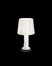 Lampa stołowa Effetti TL1 132952 Ideal Lux biała oprawa w nowoczesnym  stylu