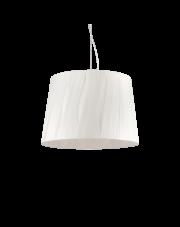 Lampa wisząca Effetti SP5 132945 Ideal Lux dekoracyjna oprawa w kolorze białym