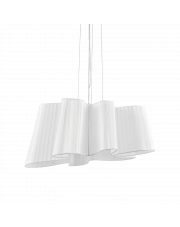 Lampa wisząca Smug SP1 110684 Ideal Lux dekoracyjna oprawa w kolorze białym