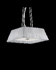 Lampa wisząca Missouri SP4 035932 Ideal Lux dekoracyjna oprawa w kształcie trapezu