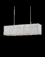 Lampa wisząca Missouri SP6 35925 Ideal Lux sześcienna oprawa w dekoracyjnym stylu