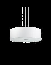 Lampa wisząca Woody SP5 103242 Ideal Lux biała oprawa w nowoczesnym stylu