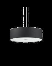 Lampa wisząca Woody SP5 105628 Ideal Lux czarna oprawa w nowoczesnym stylu