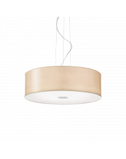 Lampa wisząca Woody SP5 087719 Ideal Lux kremowa oprawa w nowoczesnym stylu