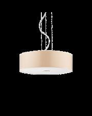 Lampa wisząca Woody SP4 087702 Ideal Lux kremowa oprawa w nowoczesnym stylu