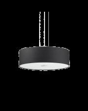 Lampa wisząca Woody SP4 122243 Ideal Lux czarna oprawa w nowoczesnym stylu