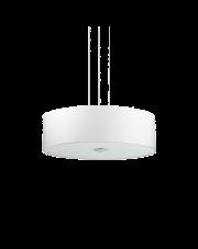 Lampa wisząca Woody SP4 122236 Ideal Lux biała oprawa w nowoczesnym stylu