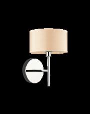 Kinkiet Woody AP1 087665 Ideal Lux kremowa oprawa ścienna w nowoczesnym stylu
