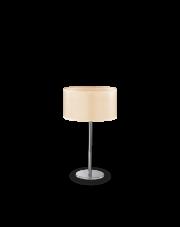 Lampa stołowa Woody TL1 087672 Ideal Lux minimalistyczna oprawa w nowoczesnym stylu