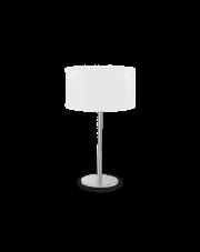 Lampa stołowa Woody TL1 143187 Ideal Lux minimalistyczna oprawa w nowoczesnym stylu