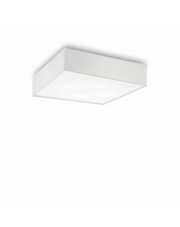 Plafon Ritz PL4 D60 152912 Ideal Lux sześcienna oprawa w kolorze białym
