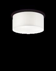 Plafon Wheel PL3 036014 Ideal Lux okrągła oprawa w kolorze białym