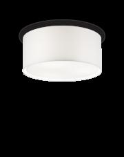 Plafon Wheel PL5 036021 Ideal Lux okrągła oprawa w kolorze białym