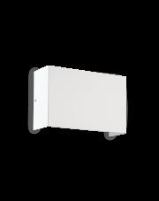 Kinkiet Flash AP2 High Bianco 200910 Ideal Lux biała oprawa w nowoczesnym stylu