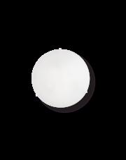 Plafon Simply PL3 007984 Ideal Lux biała okrągła oprawa w minimalistycznym stylu