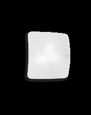 Plafon Celine PL4 044293 Ideal Lux szklana kwadratowa oprawa w minimalistycznym stylu