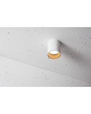 Lampa natynkowa Tubular 90 NT 3.1097.03.830.DF Labra biała oprawa w nowoczesnym stylu