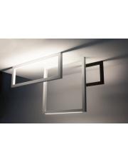 Lampa natynkowa Fraam Down 12.6 NT 3.1358.02.930.DF Labra czarna nowoczesna oprawa sufitowa