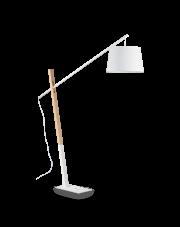 Lampa podłogowa Eminent PT1 207582 Ideal Lux nowoczesna oprawa w kolorze białym