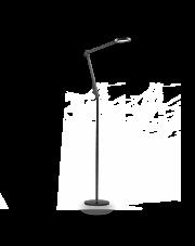 Lampa podłogowa Futura PT1 204949 Nero Ideal Lux nowoczesna ruchoma oprawa w kolorze czarnym