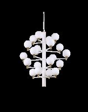 Żyrandol Copernico SP20 Bianco 197326 Ideal Lux dekoracyjna oprawa wisząca w kolorze białym