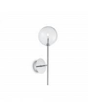 Kinkiet Equinoxe AP1 Cromo 200132 Ideal Lux minimalistyczna oprawa ścienna w kolorze chromu