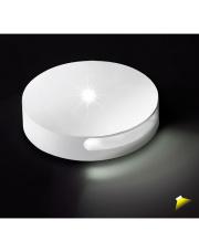 Oświetlenie przyschodowe Chip 8027 BPM okrągła oprawa w kolorze białym