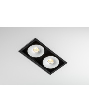Oprawa wpuszczana Multiva Evo 115.2 edge.LED 2x 12W On-Off 4.1832 designerskie oczko stropowe Labra